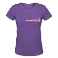 Women's T-Shirts ~ Women's V-Neck T-Shirt ~ American Outdoors® for Her