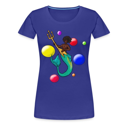 Rock God Hendrix - Women's Premium T-Shirt