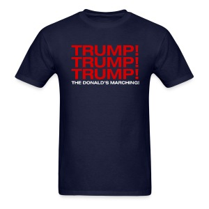 Trump! Trump! Trump! - Men's T-Shirt