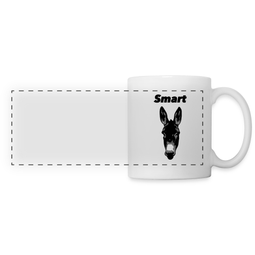 Smart Donkey Mug - Panoramic Mug