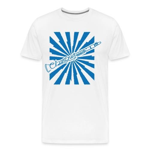 Clarinet in love - Men's Premium T-Shirt