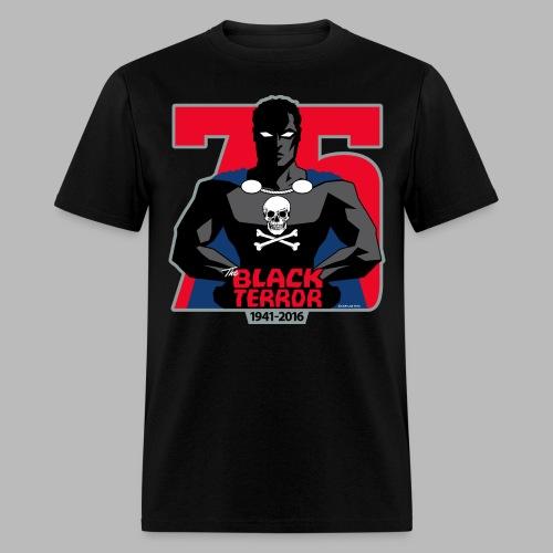 THE BLACK TERROR 75th Anniversary- LIMITED EDITION! - Men's T-Shirt