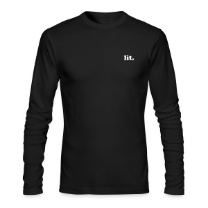 Lit. Long sleeve - Men's Long Sleeve T-Shirt by Next Level