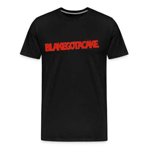BlakeGotACake Promotional Shirt - Men's Premium T-Shirt