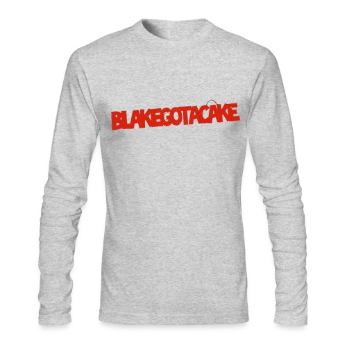 BlakeGotACake Long Sleeve - Men's Long Sleeve T-Shirt by Next Level