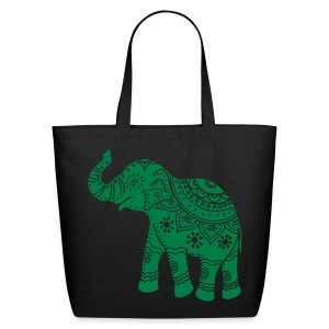 Elephant - Tote - Eco-Friendly Cotton Tote
