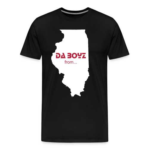Da Boyz from Illinois - Men's Premium T-Shirt