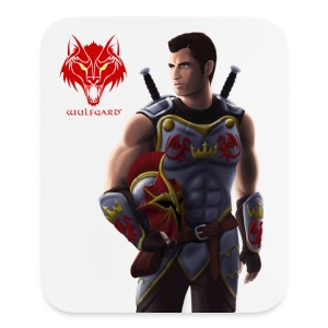 Wulfgard: Knightfall Cover Art Mousepad - Mouse pad Vertical