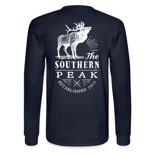 The Moose - Long Sleeve NAVY - Men's Long Sleeve T-Shirt