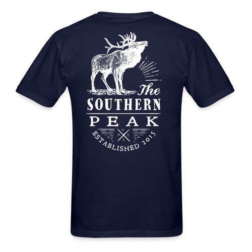 The Moose - Short Sleeve NAVY - Men's T-Shirt