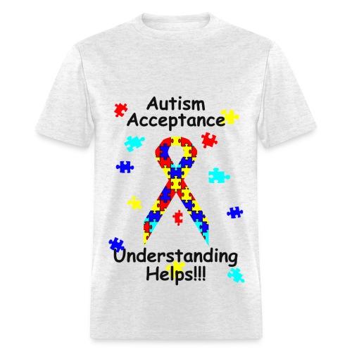 Autism Acceptance - Men's T-Shirt