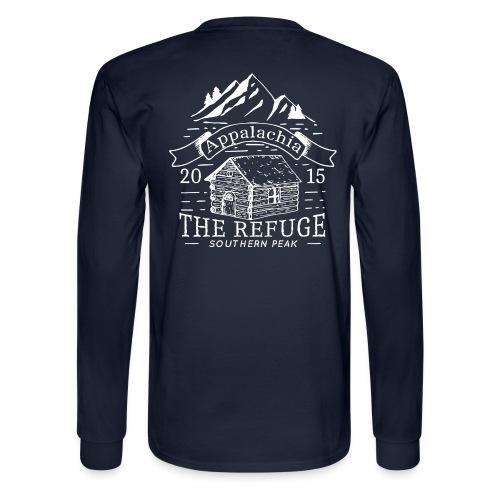 The Refuge - Long Sleeve NAVY - Men's Long Sleeve T-Shirt
