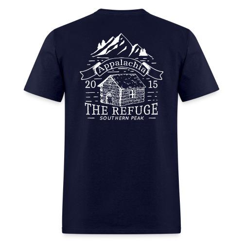 The Refuge - Short Sleeve NAVY - Men's T-Shirt