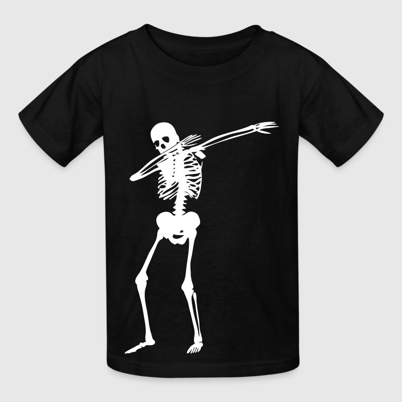 Dab Skeleton Kids' Shirts - Kids' T-Shirt