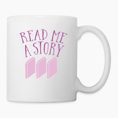 READ me a story with books Mugs & Drinkware