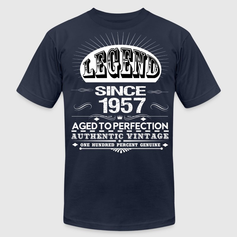 LEGEND SINCE 1957 T-Shirts - Men's T-Shirt by American Apparel