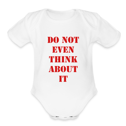 Organic Short Sleeve Baby Bodysuit - https://www.spreadshirt.com/my-products-test