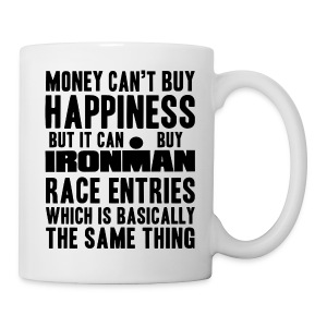 Money Can't Buy Happiness Coffe/Tea Mug - Coffee/Tea Mug