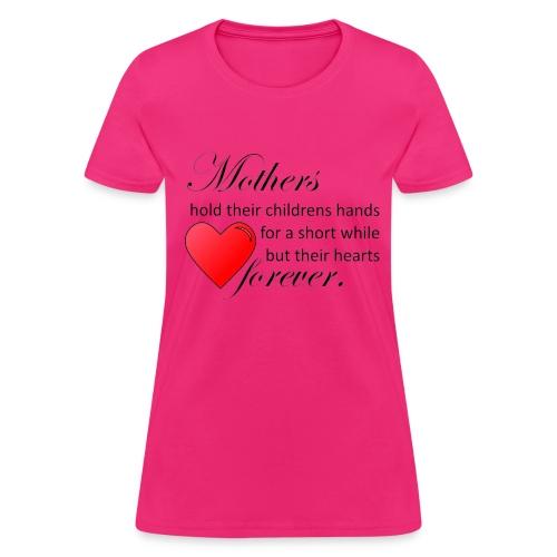 Mothers hold hearts t-shirt - Women's T-Shirt