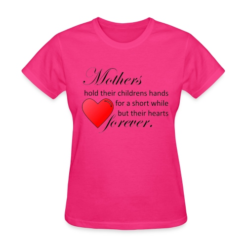 Mothers hold hearts t-shirt - Women's T-Shirt