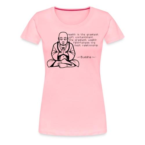 Buddah - Women's Premium T-Shirt