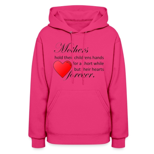 Mothers hold hearts hoodie - Women's Hoodie
