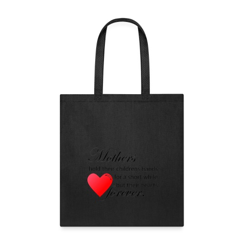 Mother's hold hearts tote - Tote Bag