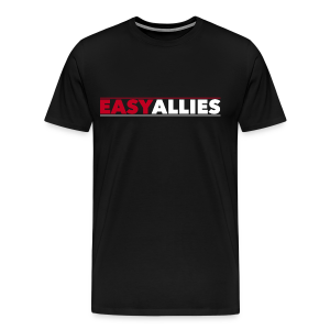 Easy Allies Red Logo T-Shirt - Men's Premium T-Shirt