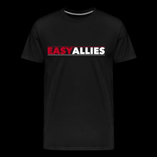 Easy Allies Red Logo T-Shirt - Men's Premium T-Shirt