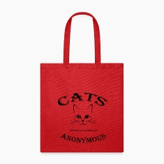 CATS ANONYMOUS: Let's talk about CATNIP addiction! Bags & backpacks