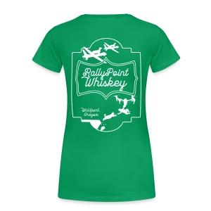 Rally Point Whiskey Women's T-Shirt - Women's Premium T-Shirt