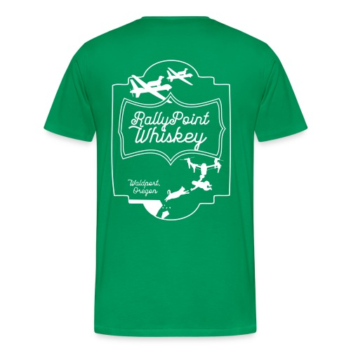 Rally Point Whiskey Unisex T-Shirt - Men's Premium T-Shirt