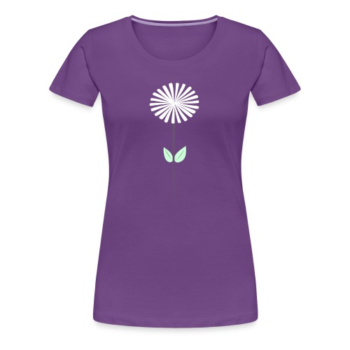 Women's Purple Dandelion Shirt - Women's Premium T-Shirt