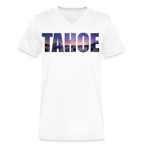 Infinite Tahoe Men's V-Neck T-Shirt - Men's V-Neck T-Shirt by Canvas
