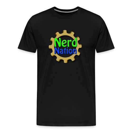 Nerd Nation Logoshirt - Men's Premium T-Shirt
