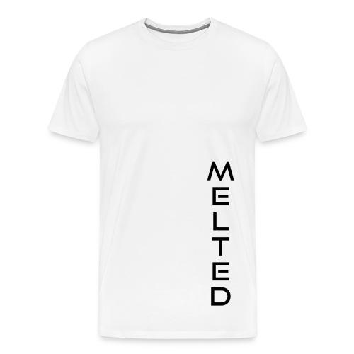MELTED - Vertical - Men's Premium T-Shirt