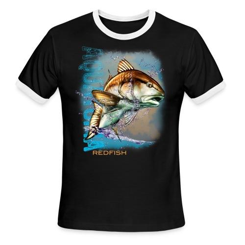 Aquatopia redfish  - Men's Ringer T-Shirt