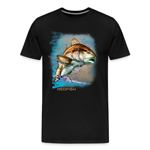 Aquatopia redfish  - Men's Premium T-Shirt