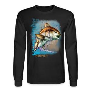 Aquatopia Redfish - Men's Long Sleeve T-Shirt