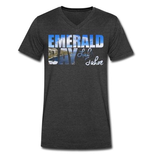Emerald Bay Lake Tahoe Men's V-Neck T-shirt - Men's V-Neck T-Shirt by Canvas