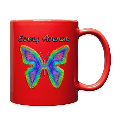 Every Ave Butterfly Mug - Full Color Mug