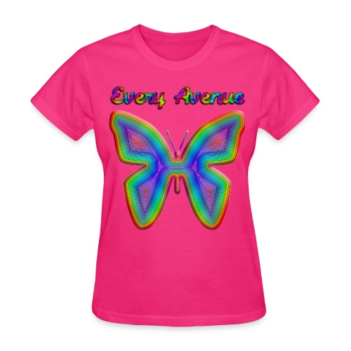 Every Avenue Women's Butterfly Tee - Women's T-Shirt