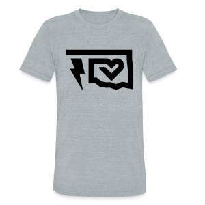 Thunder Love - Grey - Unisex Tri-Blend T-Shirt by American Apparel