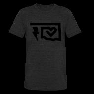 T-Shirts ~ Unisex Tri-Blend T-Shirt ~ Thunder Love - Black