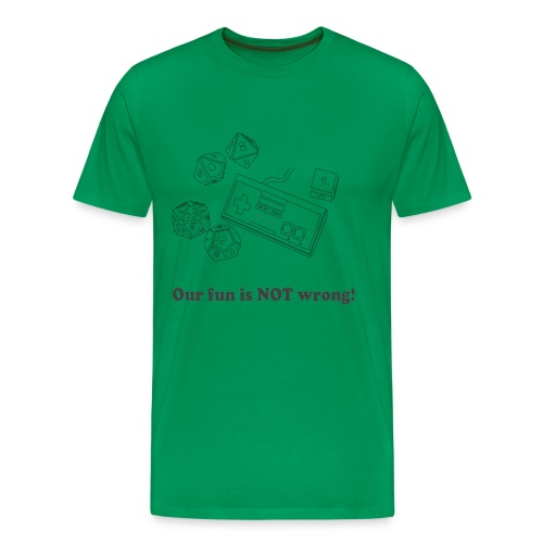 FunNotWrongTee - Men's Premium T-Shirt