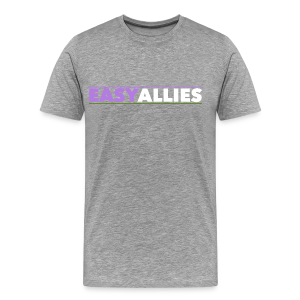 Easy Allies Purple and Green - Men's Premium T-Shirt