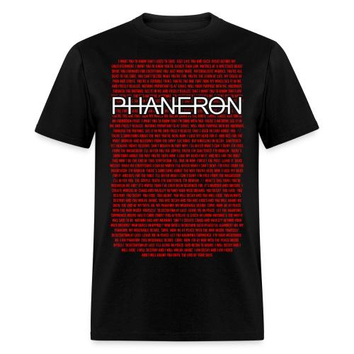 Lyric Shirt Mens - Men's T-Shirt