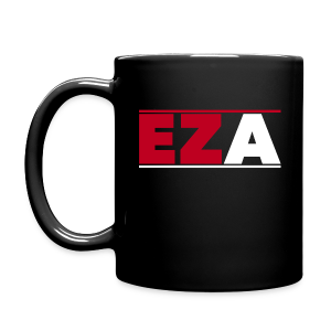EZA Black Mug - Full Color Mug