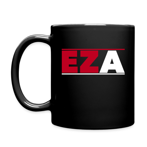 EZA Black Mug - Full Color Mug