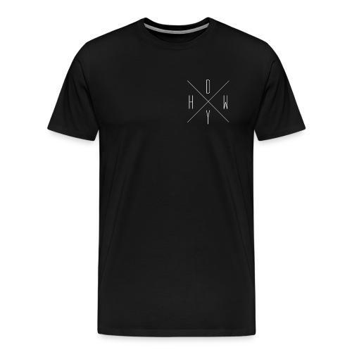 Black HDWY  - Men's Premium T-Shirt